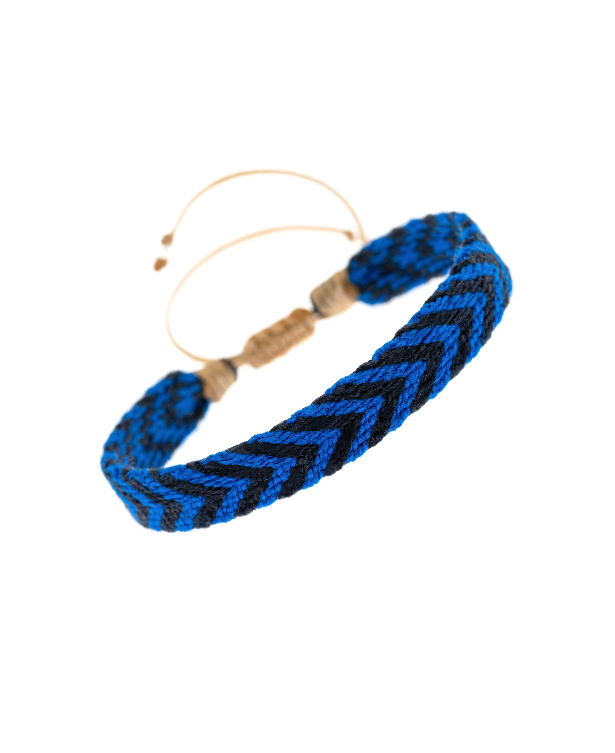 NARIÑO Armband Blau