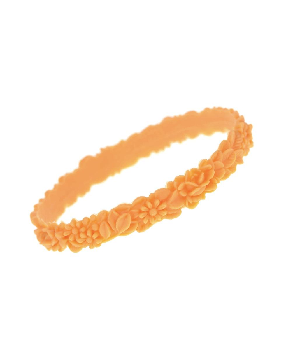 LES FLEURETTES Armband Orange