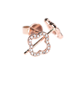 DIAMOND Ohrstecker  14K Roségold