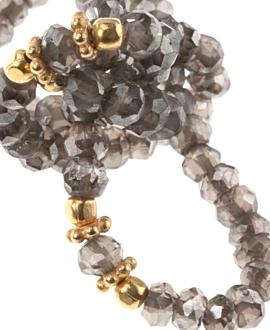 RAUCHQUARZ  Armband Gold