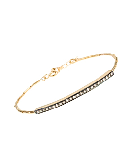 BONNIE Diamant Armband vergoldet