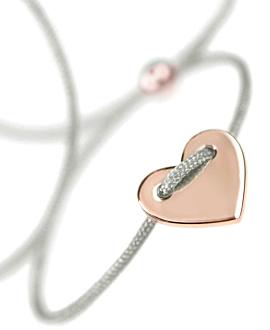 HEART Armband 14K Roségold