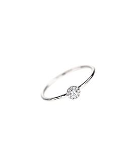 Diamant Ring Weißgold