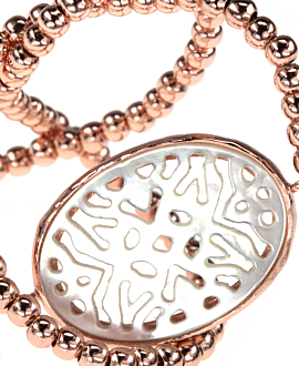 MOTHER OF PEARL  Armband Rosé