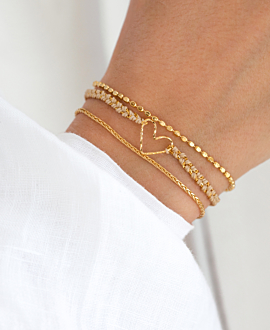 PURE LOVE  Armband Gold
