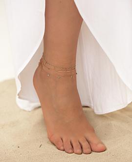 GEMMY DROPS  Fußband Türkis