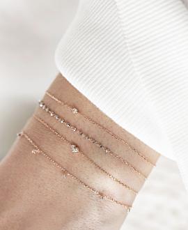 DIAMOND Armband 10K Roségold