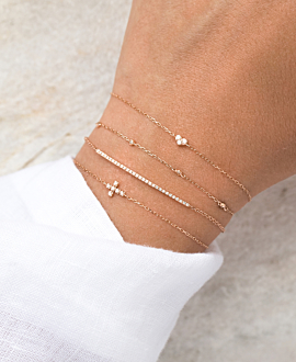 DIAMOND Armband  10K Gold