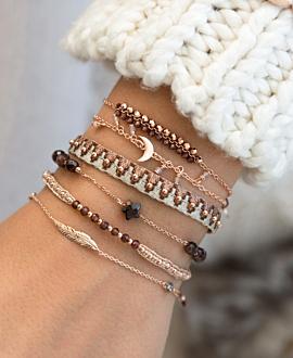 BOHO  Armband Turmalin