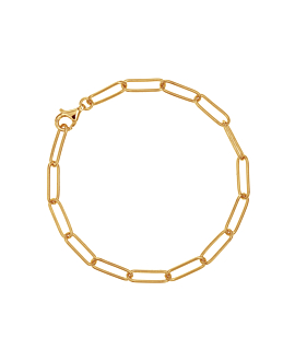 CHAIN LINK|Armband Gold