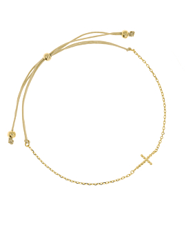 CROSS  Armband Gold