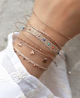 SPIRIT OF AFRICA  Armband Beige