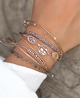 AFRICAN WILDLIFE  Armband Beige