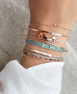 AFRICAN SKYLINE  Armband Rosé