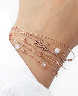 ALOHA  Armband Rosé