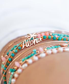 ALOHA  Armband Türkis