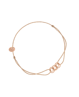 ROSE SHADOWS BRACELET BEIGE