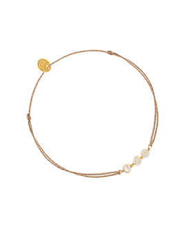 PEARL|Armband Gold