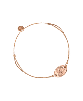 CROSS BEADS|Armband Rosé