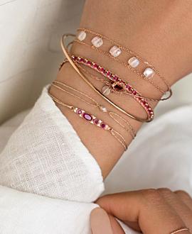 VIVACE Armband Rubin