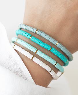 HEISHI COLORS  Armband Türkis