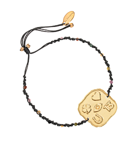 LUCKY SIGNS|Armband Gold
