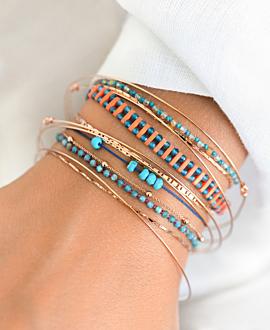 TURQUOISE Armband Blau