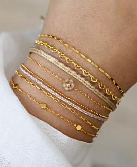 HEART CHAIN  Armband Gold