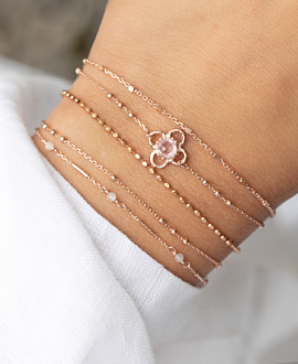 GRACIOUS LABRADORITE  Armband Rosé