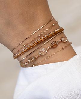 GRACIA  Armband Braun