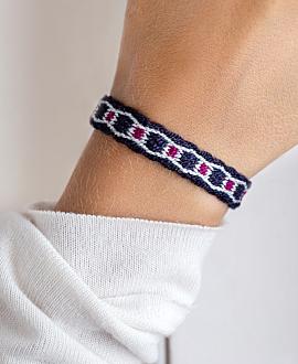 NARIÑO Armband Dunkelblau