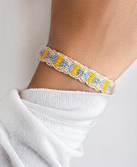 NARIÑO Armband Beige
