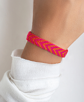 NARIÑO Armband Koralle