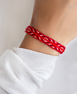 NARIÑO Armband Rot