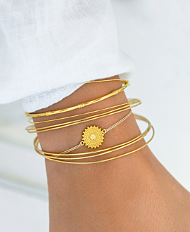 SOLEIL  Armband Gold