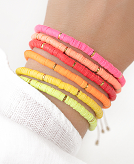 HEISHI COLORS  Armband Neonpink