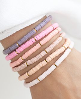 HEISHI COLORS  Armband Rosa