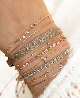 TWINKLE SPARK  Armband Rosé