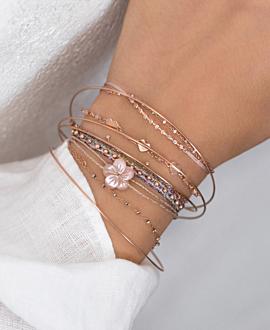 AMANTE  Armband Rosé