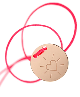 HEART  BRACELET PINK