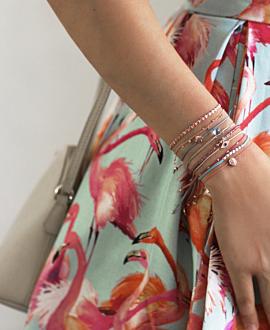 TROPICAL Armband Rosa