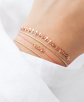 FREE SPIRIT  Armband Coral