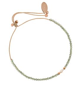 PEARL GLITZ  Armband Grün