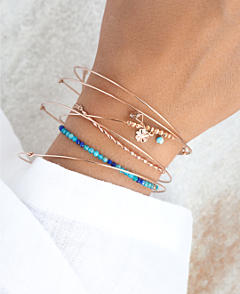 DELICIA  Armband Blau