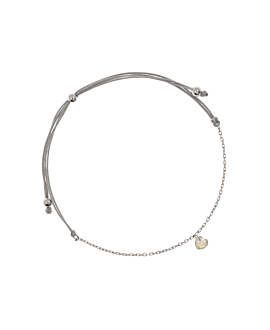 FLYING HEART|Armband Silber