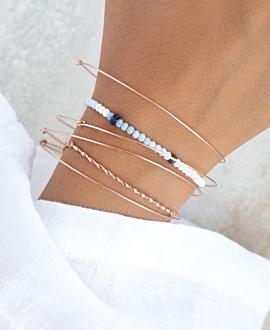 DELICIA  Armband Hellblau