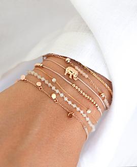 ELEPHANT  Armband Rosé