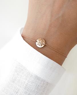 RAPHAEL Armband  14K Roségold