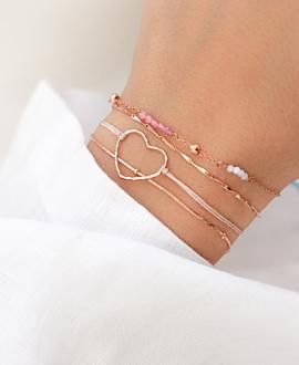SNAKE CHAIN  Armband Rosé