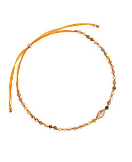 EVIL EYE  Armband Orange